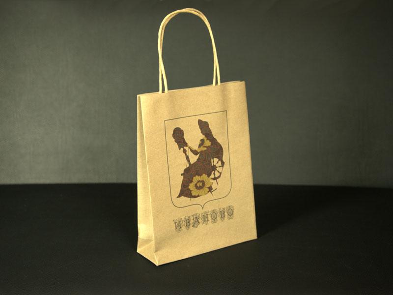 Пакет с логотипом калькулятор